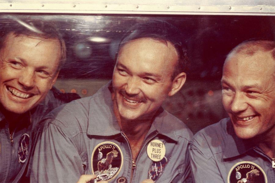 Muere Michael Collins Astronauta crew