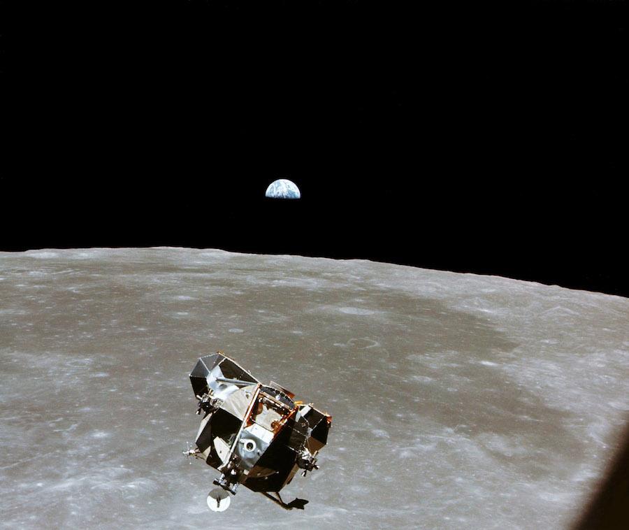 Muere Michael Collins Astronauta Tierra