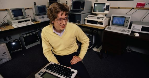 Historia del Internet Bill Gates