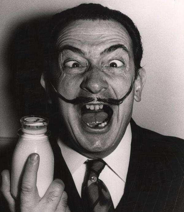 Salvador Dalí Fotos leche