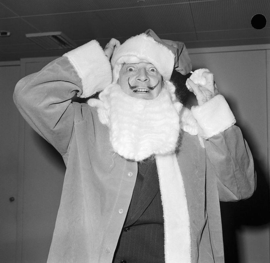 Dalí Santa Claus