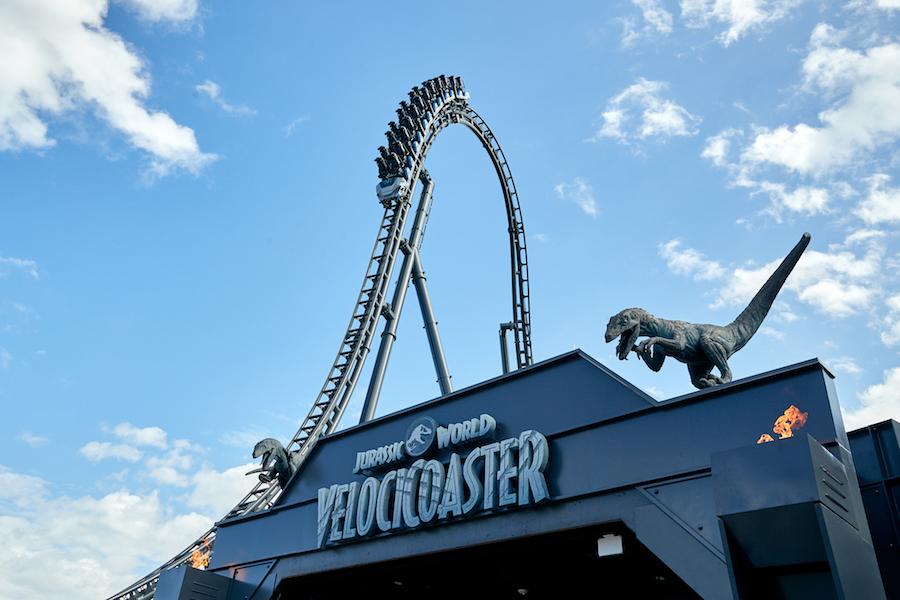 Jurassic World Velocicoaster