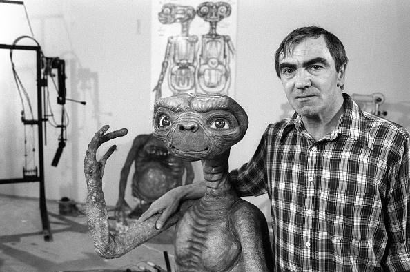 et el extraterrestre y su creador carlo rambaldi