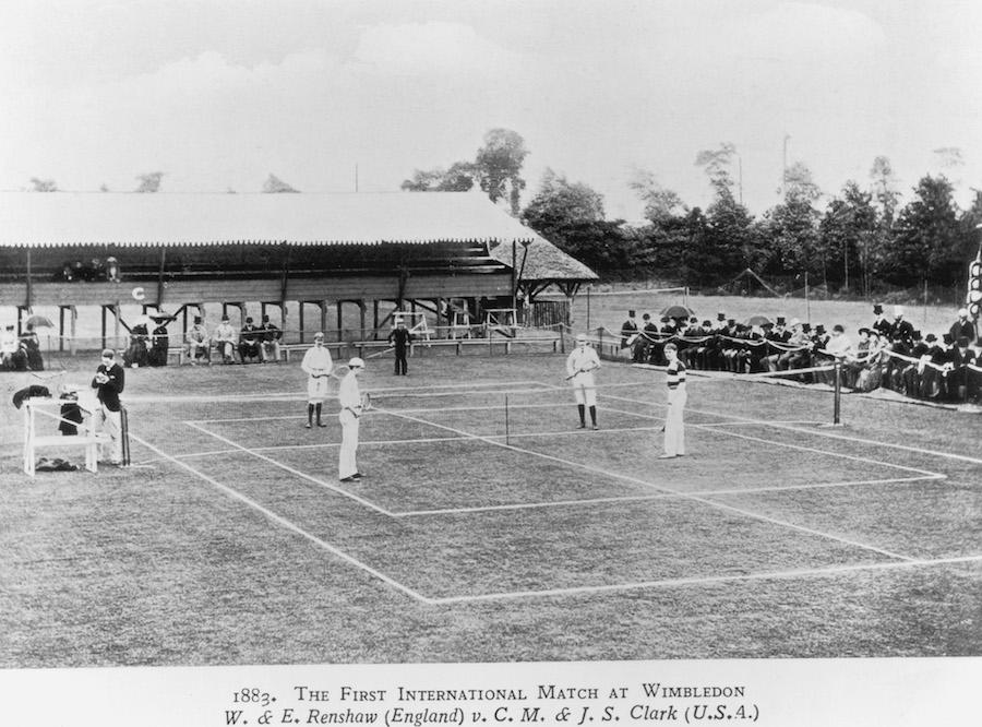 Historia de Wimbledon primer match