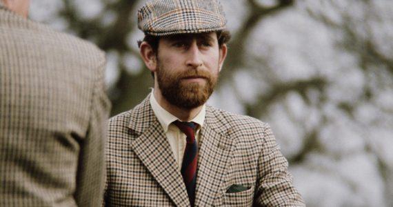 Hombres de la realeza barba príncipe Carlos