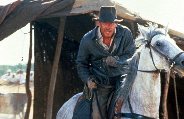 Indiana Jones 40 aniversario caballo