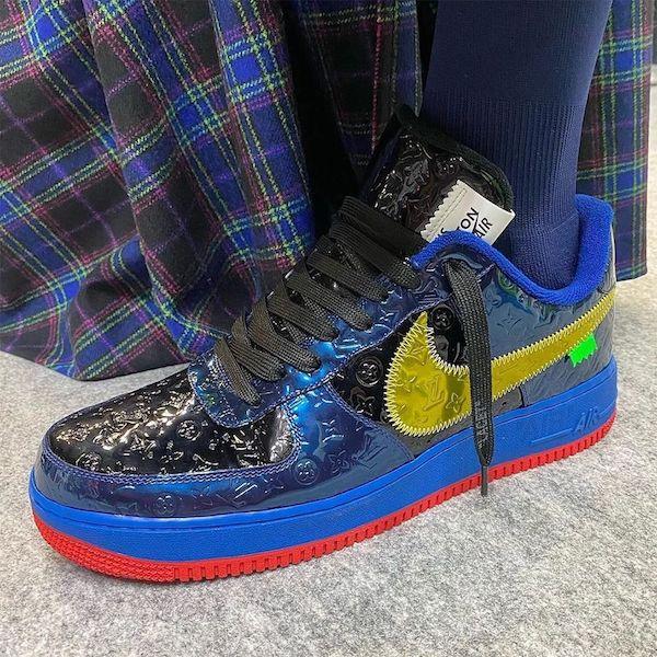 Louis Vuitton Nike azules
