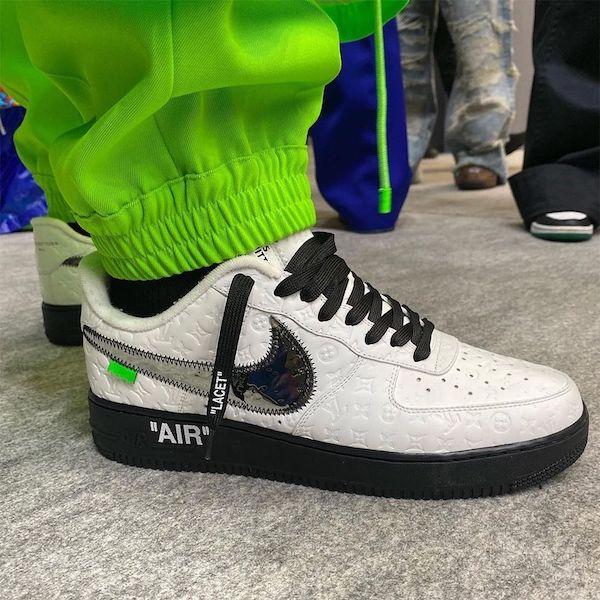 Louis Vuitton Nike blanco