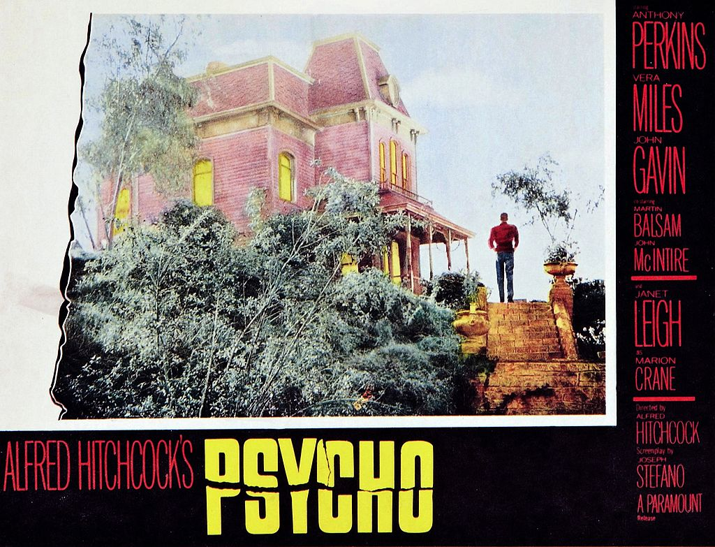 psicosis poster pelicula alfred hitchcock