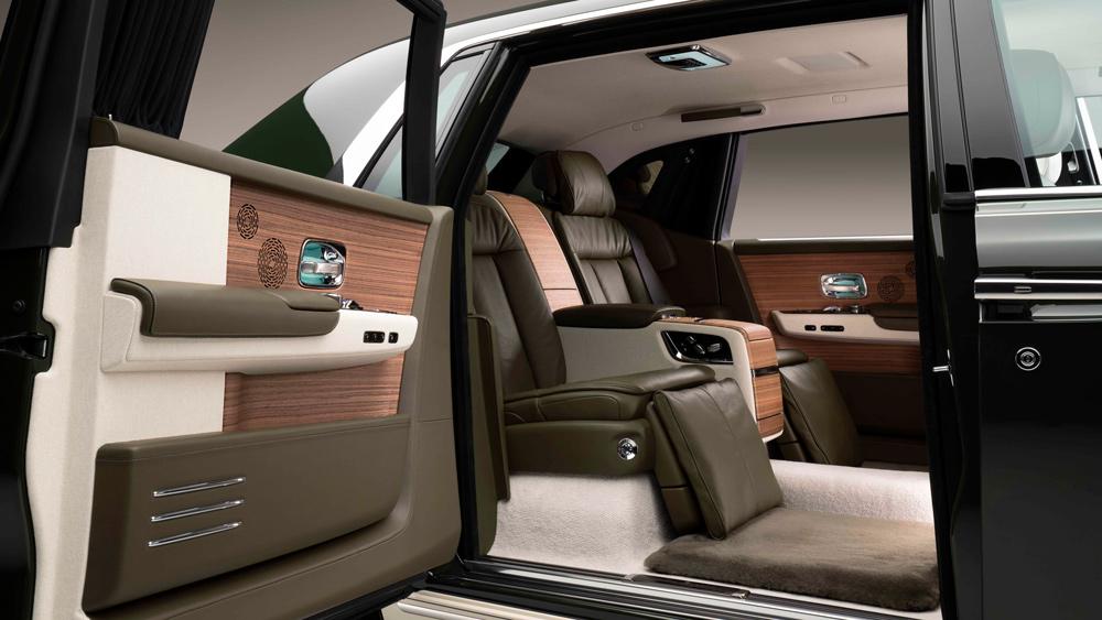 Rolls-Royce Hermès interior