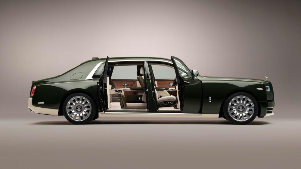 Rolls-Royce Hermès lateral