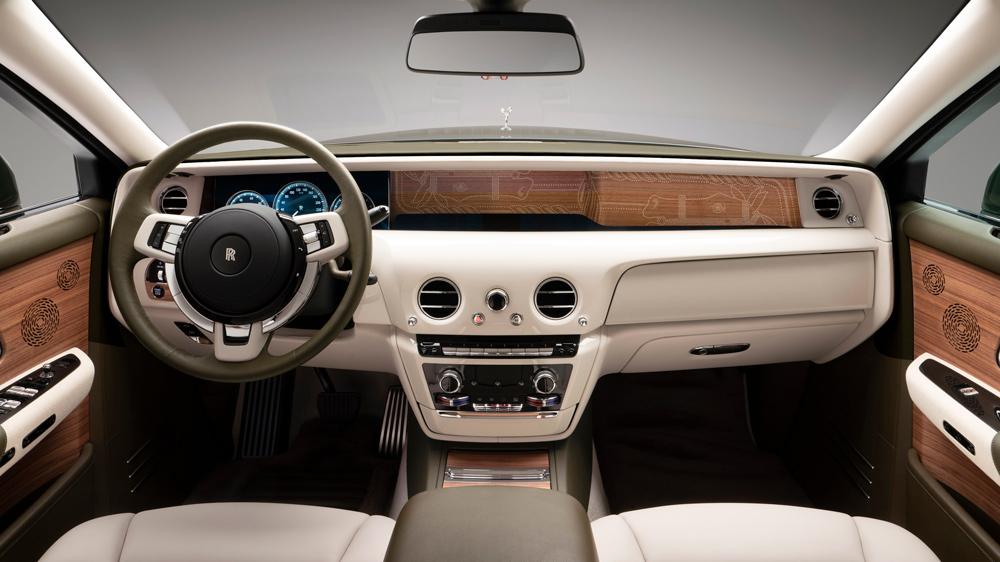 Rolls-Royce Hermès tablero