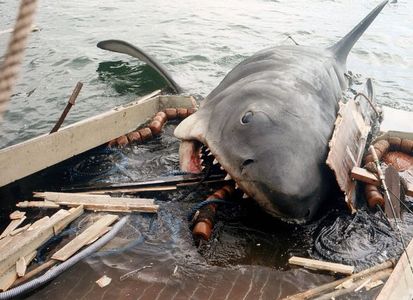 tiburon pelicula steven spielberg cine de terror