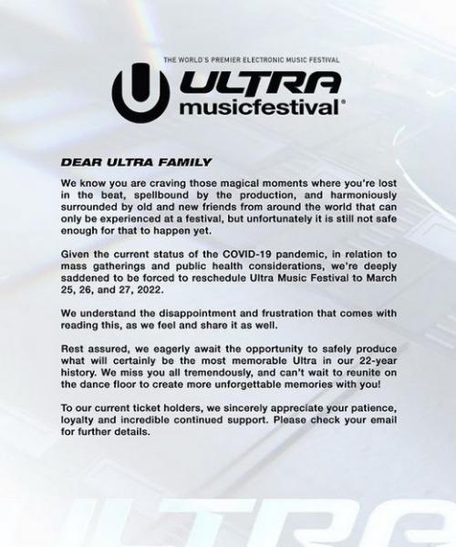 Ultra Music Festival: Festival de música