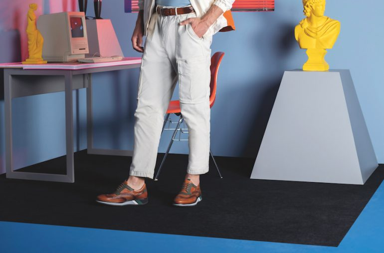 Zapatos para papá Prada México diseño