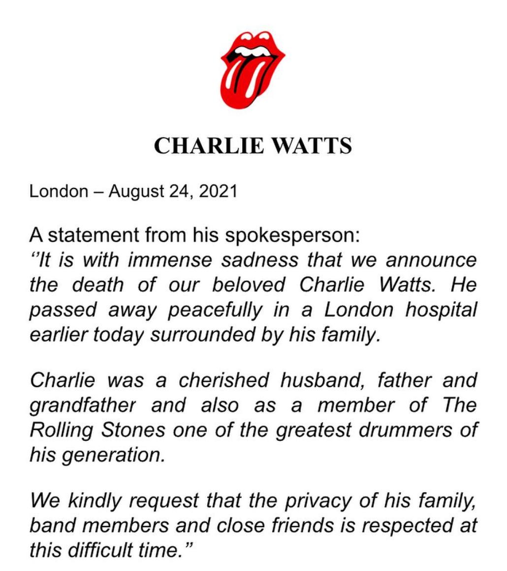 Charlie Watts
