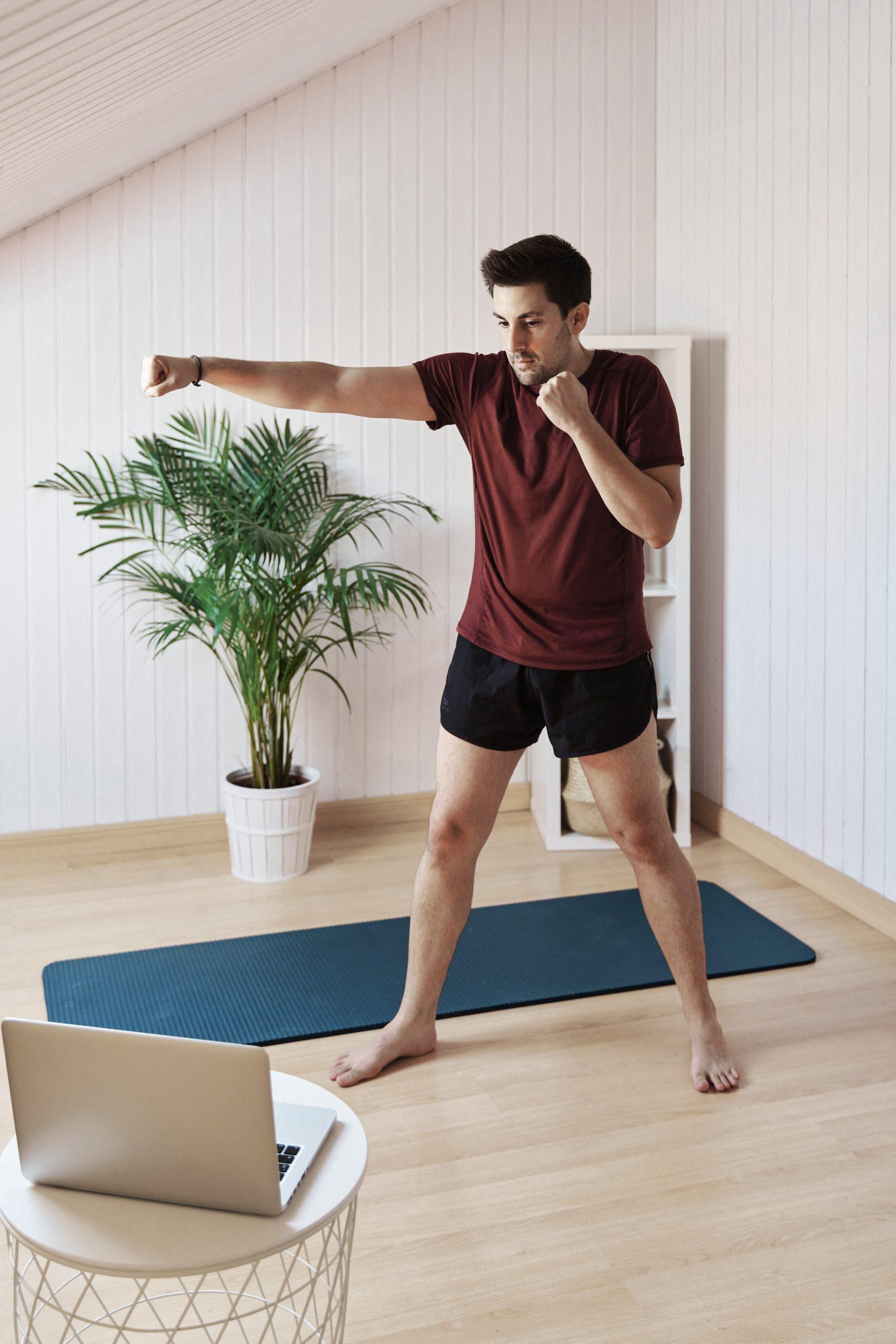 entrenamiento de pie