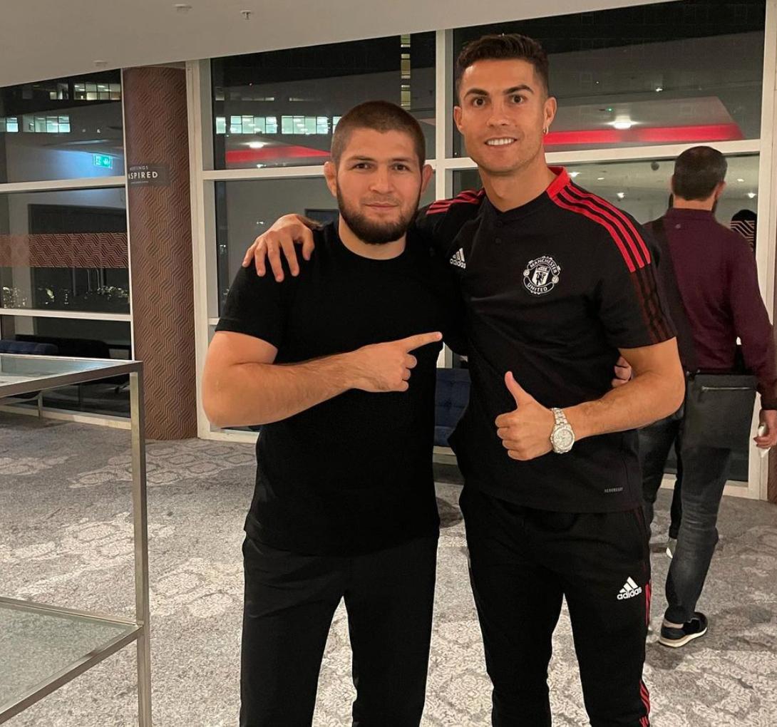 Cristiano Ronaldo y Khabib