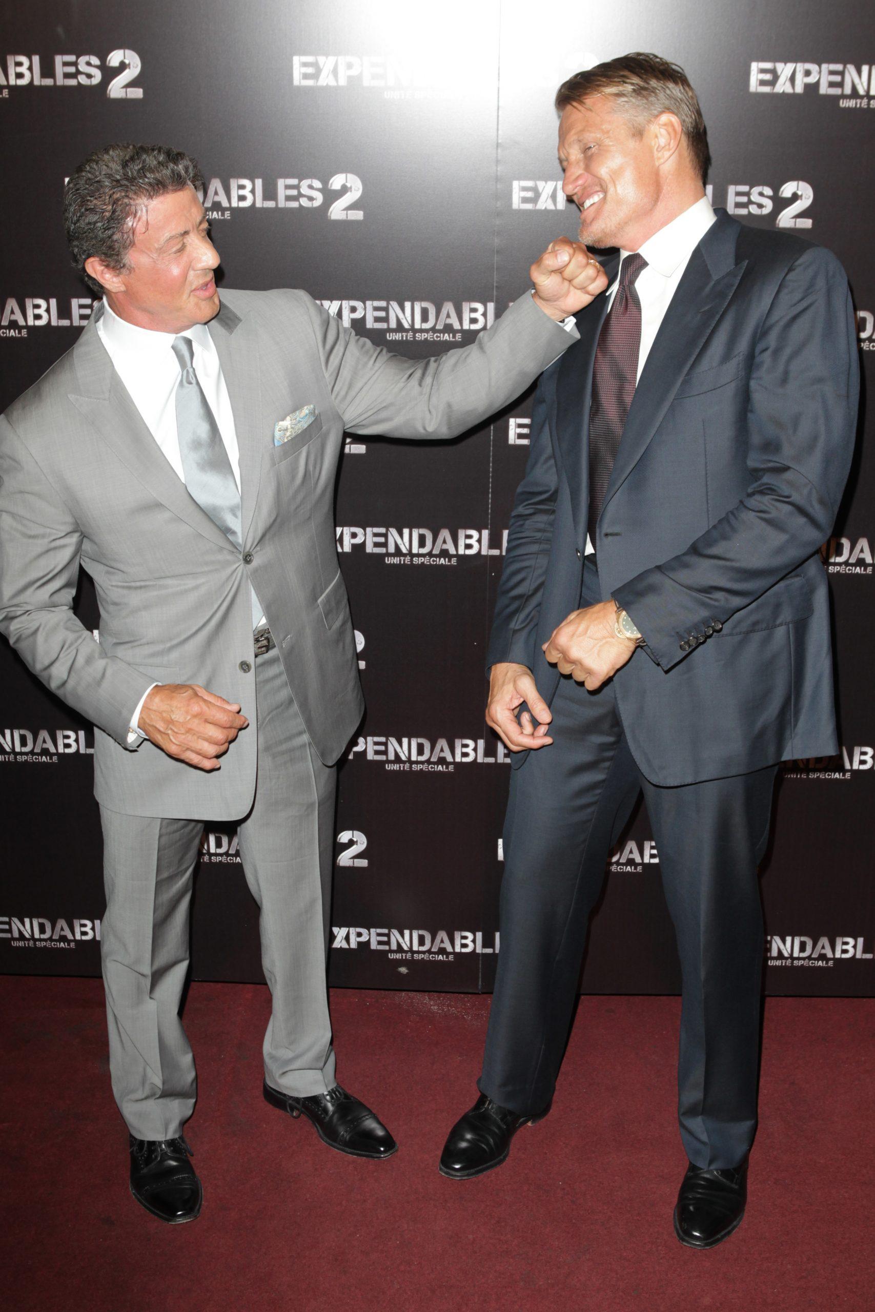 Sylvester Stallone y Dolph Lundgren